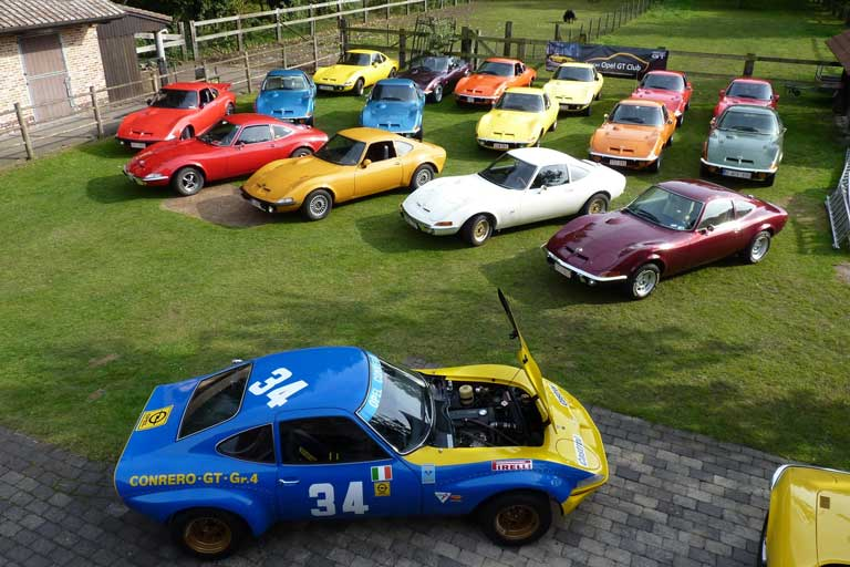 The Belgian Opel GT Club
